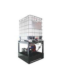 Oil Safe Tote Dispensing Rack, 110V
