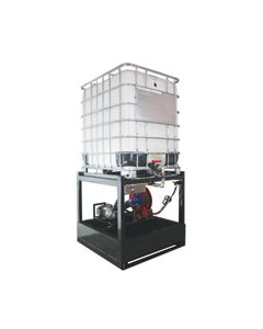 Oil Safe Tote Dispensing Rack, Low Viscosity, 240v