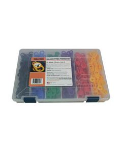 """Grease Fitting Kit G, 1/4"""" (6.4mm), 6 color, 240 pc"""