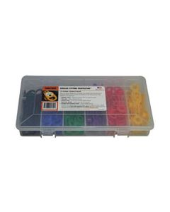 """Grease Fitting Kit J, 1/4"""" (6.4mm), 6 color, 60 pc"""