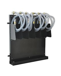Frame Mount Suction Hose Rack, 6 Hose