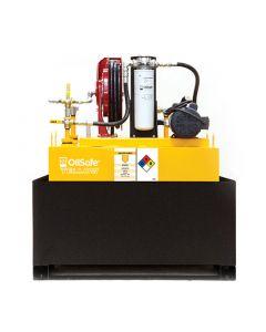 Oil Safe Bulk Fluid Transfer Skid, 120 Gallon