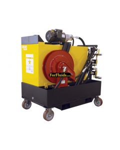 Oil Safe Advanced Fluid Handling Cart, 65 Gallon