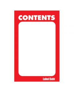 """Paper Rectangle Label, 2"""" x 3.5"""""""