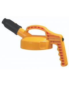 oil safe stumpy spout lid yellow